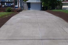 driveway (after)