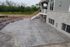 textured patio regular concrete with charcoal release