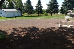 final grade /topsoil and seed